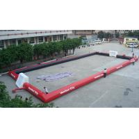 Quality Fantastic Inflatable Sports Games , Inflatable Football Field with EN14960 for sale
