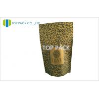 Buy cheap 100g Resealable Matte Printing Tea Packaging Bags Aluminum Foil Standup from wholesalers