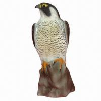 Buy cheap Plastic Eagle/Hawk/Falcon Decoy for Hunting, Garden Decoration, Simulation Animal, Blow Molding  from wholesalers