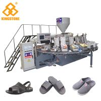 Wholesale Plastic Shoe Making Production Line , Rotary TPR PVC Shoe Sole slipper Making Machine  from china suppliers