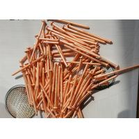Wholesale 10Ga Flanged CD Stud Welding Pins , Copper Plated Insulation Pins For Marine System from china suppliers