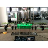 Wholesale Linear Type Small Mineral Water Filling Machine , Pet Bottle Beverage Capping Machine from china suppliers