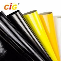 Buy cheap Shiny Surface PU PVC Patent Artificial Leather for Shoes for Bag for Garment from wholesalers
