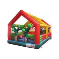 Wholesale Forest Style Inflatable Fun City , Customized Size Blow Up Fun House from china suppliers
