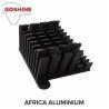 foshan factory aluminium 6061 T5/t6 industrial aluminum profile/heat sink for sale