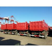 Wholesale Sinotruck 40 Ton Heavy Duty Dump Truck 6x4 336 10 Wheel Tipper Red Color from china suppliers