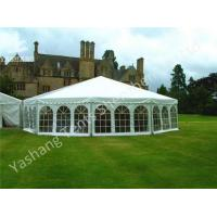 Wholesale Aluminum Framed Customized Outdoor Canopy Gazebo Party Tent White PVC Top from china suppliers