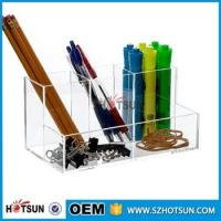 Quality Hot Selling 2016 clear acrylic Desk Organizer Stationary Products for sale