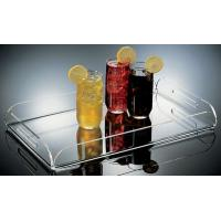 Quality Unique Plexiglass Food Display Trays PMMA Transparent Fruit Stack Service Stand for sale