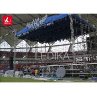 China Galvanized Steel Line Array Self - Locking Layer Truss For Outdoor Concert on sale