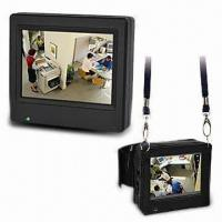 Wholesale Portable LCD Monitor with 3.5-inch LCD Panel and Built-in Rechargeable Li-ion Battery from china suppliers