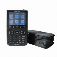 Wholesale Satellite Finder for HIQ 8PSK DVB-S/DVB-S2 Digital Satellite, 950 to 2150MHz Frequency Range from china suppliers