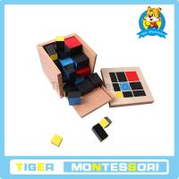 Wholesale Montessori sensorial materials,wooden toys,educational toys for kids-Trinomial Cube from china suppliers