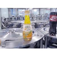China Small Bottled Liquid Orange Juice Bottling Machine Stainless Steel 304 Material on sale