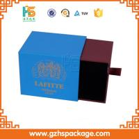 Buy cheap Custom drawer style small cardboard box with logo from wholesalers