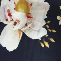 Wholesale 100% Polyester Fashion Print Fabric 75dx95d Yarn Count Light Sph Satin from china suppliers