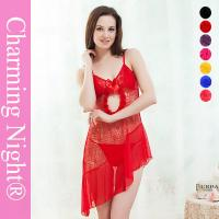 Wholesale Wide Style Transparent Sexy Chemise Lingerie , Young Girls sexy nightwear dress from china suppliers