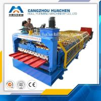 Wholesale Building Material Iron Sheet Roof Corrugated Roll Forming Machine For Exhibition Halls from china suppliers
