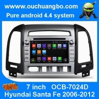 Wholesale Ouchuangbo Radio GPS Nav Stereo DVD for Hyundai Santa Fe 2006-2012 3G Wifi Android 4.4 OS from china suppliers