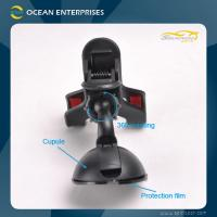 Wholesale Black / White ABS Dashboard Universal Car Cell Phone Holder 0-100mm from china suppliers