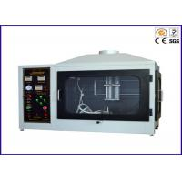 Wholesale Single Flame Source Ignitability Test , Flammability Test Apparatus EN ISO 11925-2 from china suppliers