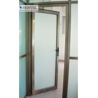 Wholesale 6082 T5 / T6  Aluminum Door Frames Champagne Anodized With finished Machining from china suppliers