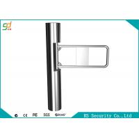 Wholesale Fully Automatic Supermarket Swing Gate Auto Recognition Turnstiles Barrier from china suppliers