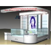 Wholesale Women Skin care products sale Display Kiosk by wood and glass Counters and Wall storage Cabinet from china suppliers