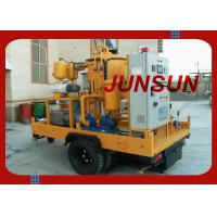 Wholesale Trailer Mounted Transformer Oil Treatment Plant, Mobile type Dielectric Oil Purifier Made By JUNSUN from china suppliers
