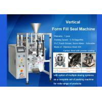 Wholesale Auger Vertical Form Fill Seal Machine With Volumetric Cup Pneumatic Operate from china suppliers