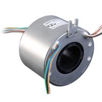 Wholesale Hallow shaft Slip Ring with Through hole 50mm,2-30A 380V, jinpat slip ring for UAV/medical from china suppliers