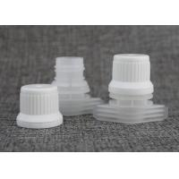 China Anti - Pilfer PE PP Plastic Spout Caps For Juice / Beverage Doypack / Baby Food Pouch Tops for sale