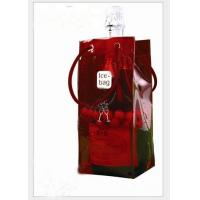 Wholesale Clear PVC Wine Bags, Plastic Ice Bag, PVC Bag for Wine Packing from china suppliers
