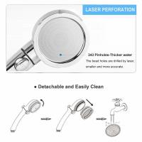 Wholesale JK-2800 China sanitary ware factory supply three functions high water pressure hand shower chorme plated from china suppliers