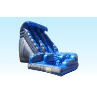Wholesale Outdoor Big Curvy Adult / Kids Commercial Inflatable Slide For Festival from china suppliers
