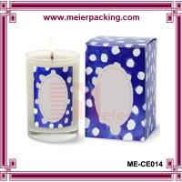 Quality Candle Box/Recycle Custom Printed Paper Candle Box ME-CE014 for sale