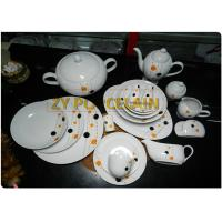 Poketdot Coupe Shaped Plate Set Of 8 With High Grade Bone Gracious Style for sale