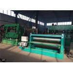 China 2M Width Plate Flattening Machine , Two Rollers Sheet Straightening Machine for sale