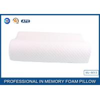 Ergonomic Visco Memory Foam Contour Pillow With Ventilated Tencel Mesh Cover