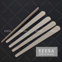 Wholesale Wooden Nail File Buffer Water Drop Shape Nail File Sheet 178*19*2mm from china suppliers