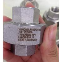 China Stainless Steel Forged Fitting, A182 F304L , F316L , ASME B16.11,NPT,SW,90°ELOW,3000#,6000#,1/2 on sale