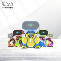 Wholesale Attractive Colorful Funny VR Game Children VR Simulator / 9D Virtual Reality Machine from china suppliers