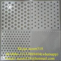 Wholesale aluminium perforated facade panel  / aluminum perforated ceiling panel from china suppliers