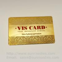 Wholesale Printed etching business cards wholesale in China etching process factory from china suppliers