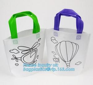 Buy cheap Customized Eco Friendly Non Woven Bag Reusable Shopping Bag, custom logo non from wholesalers