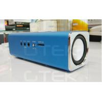 Wholesale Metal Iphone FM radio speaker , USB Rechargeable Stereo Speakers from china suppliers
