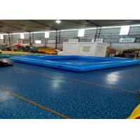 Wholesale Large Inflatable Swimming Pool With Waterproof Plato PVC Tarpaulin from china suppliers