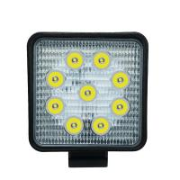 China Factory Price 27W waterproof IP68 Vehicle/ car Square shape working lights for sale
