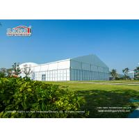 Wholesale 15x40m 400 Seaters Aluminum Luxury Wedding Tents With Glass Walls Decoration from china suppliers