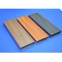 Wholesale Wood Grain Aluminium 6063-T5 Window Profiles 60 - 80 Um For Dinner Room from china suppliers